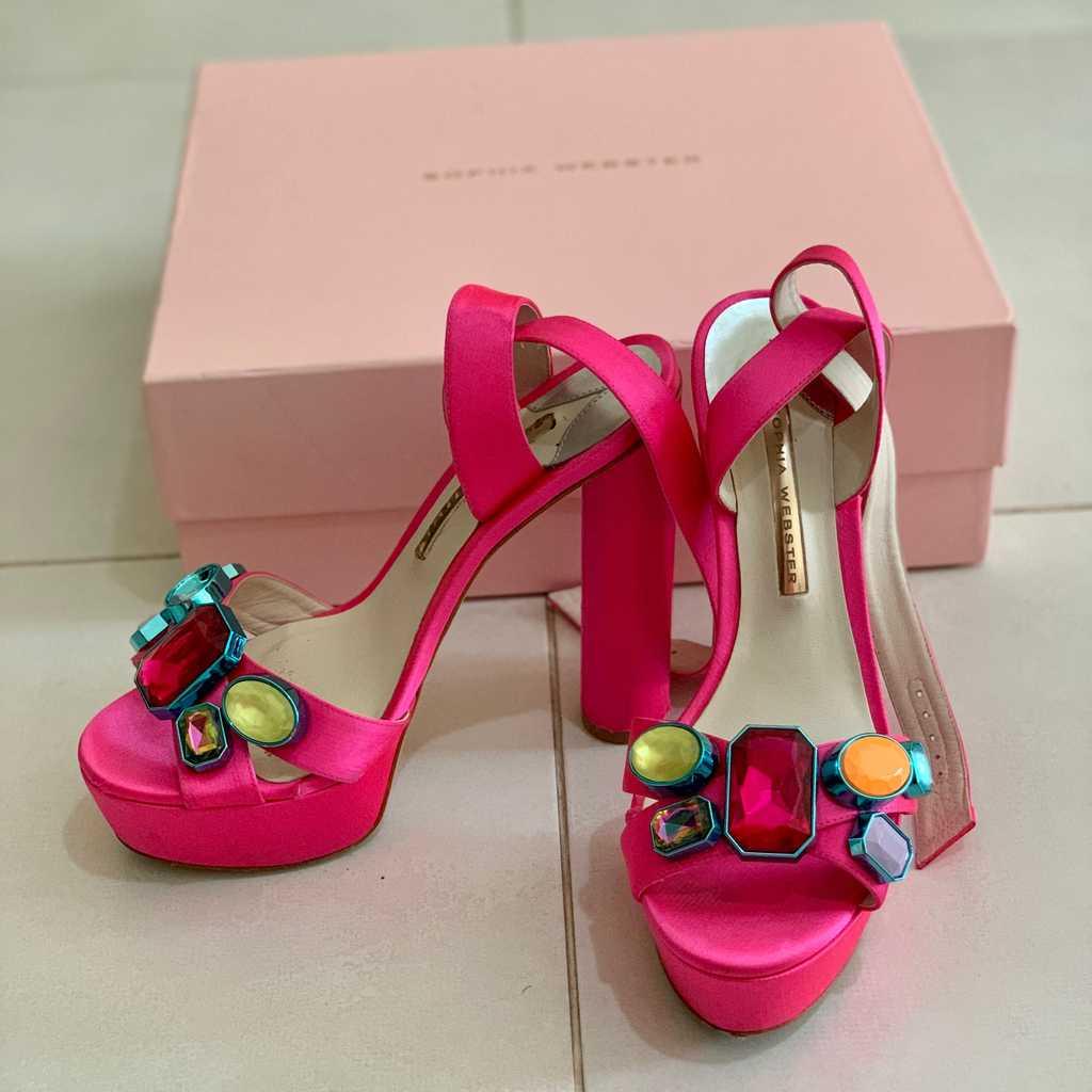 Sophia Webster pink Heels