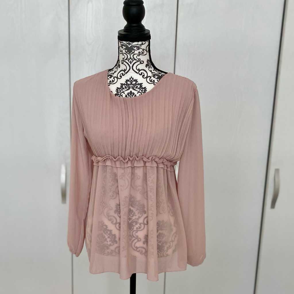 Elegant pink blouse