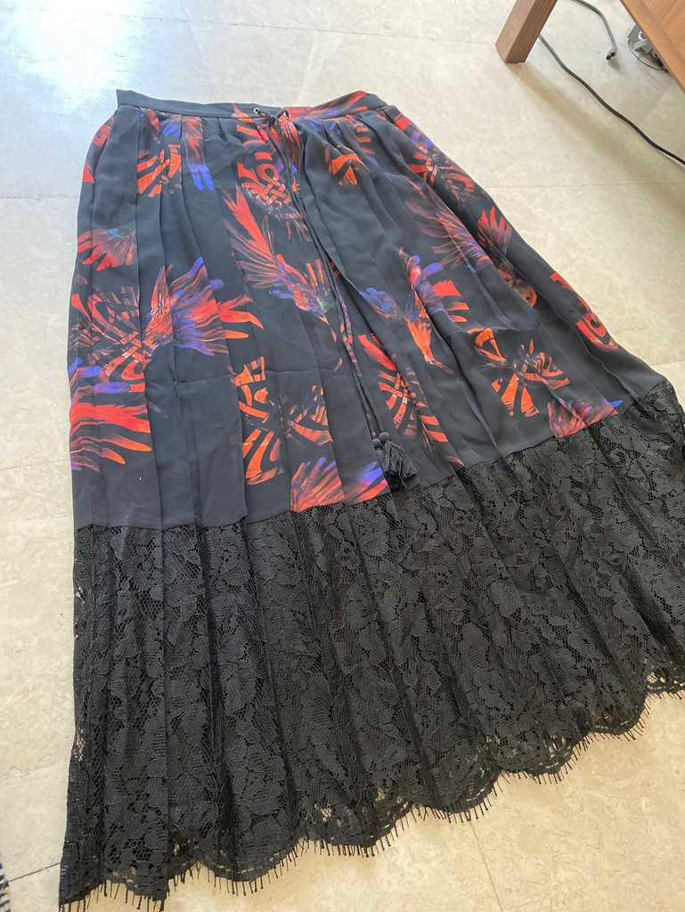Biba mid length skirt