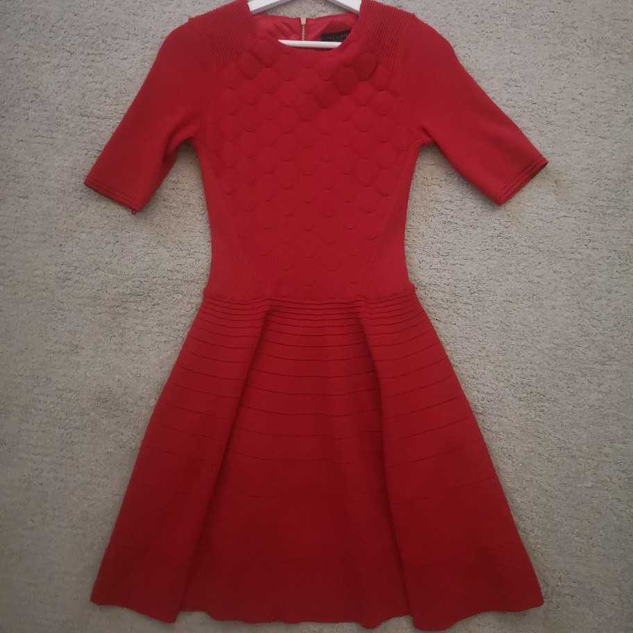 Ted Baker red dress size 8