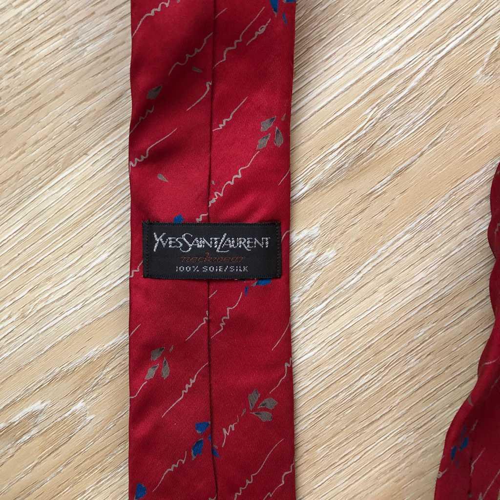 Vintage thin Yves Saint Laurent tie
