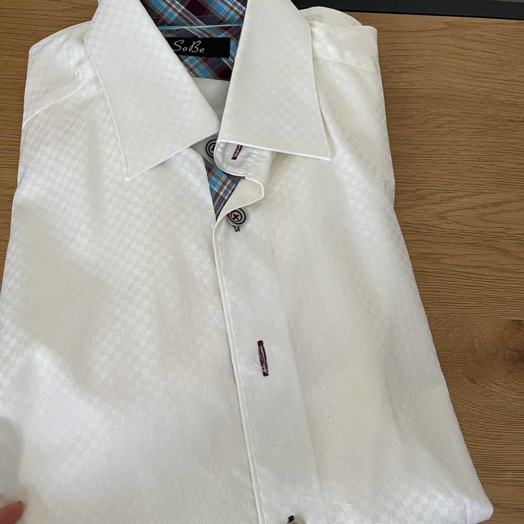 SoBe white shirt for men