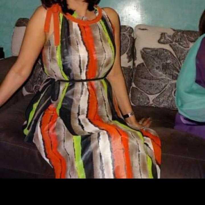 Long dress/sleeveless