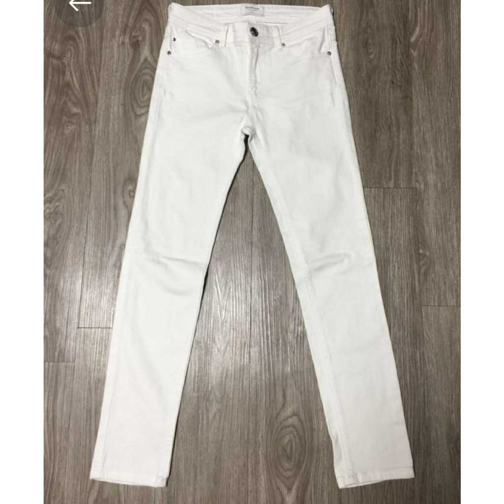 Stradivarius White Jeans size 36