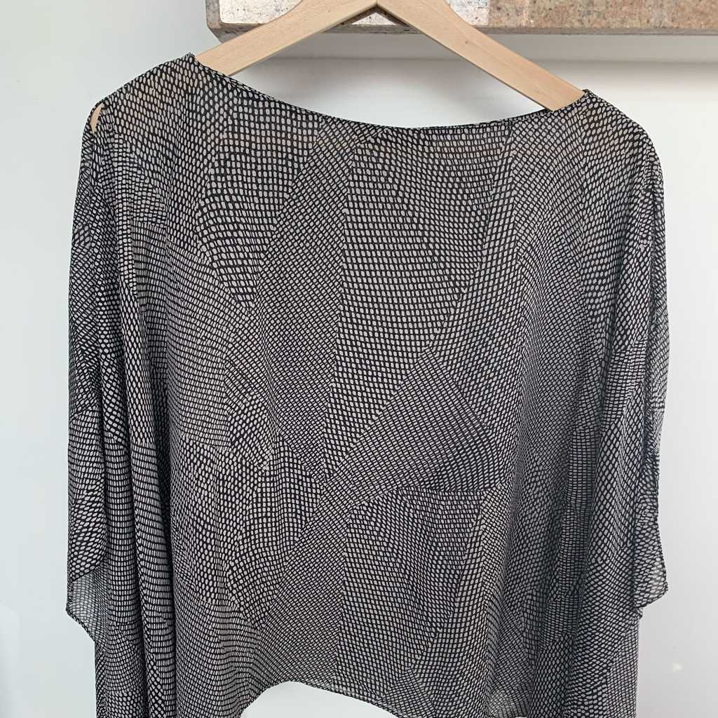 Silk blouse by Jim Thomson - size S to M