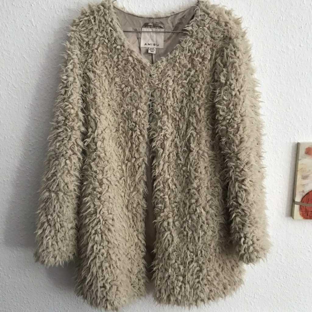 Brand New Teddy Jacket size 38/ M