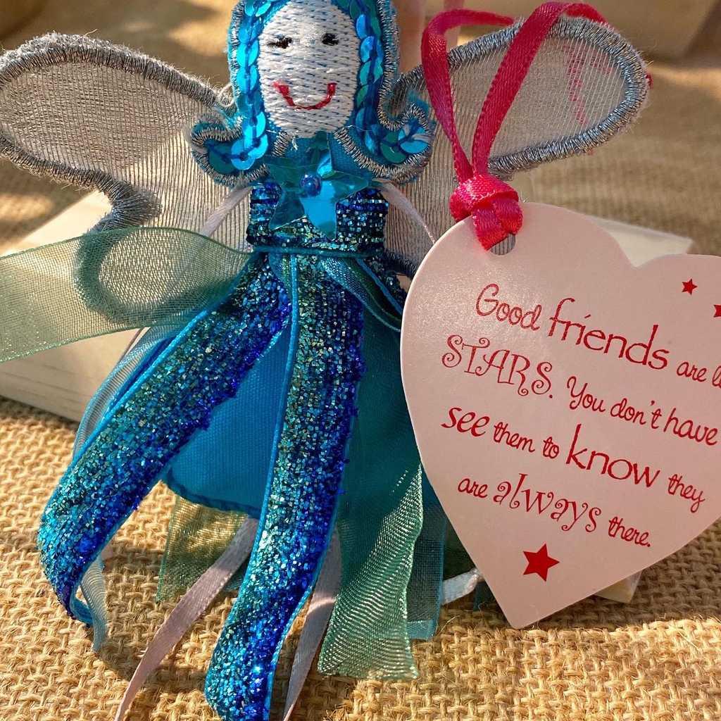 Good friends fairy decoration