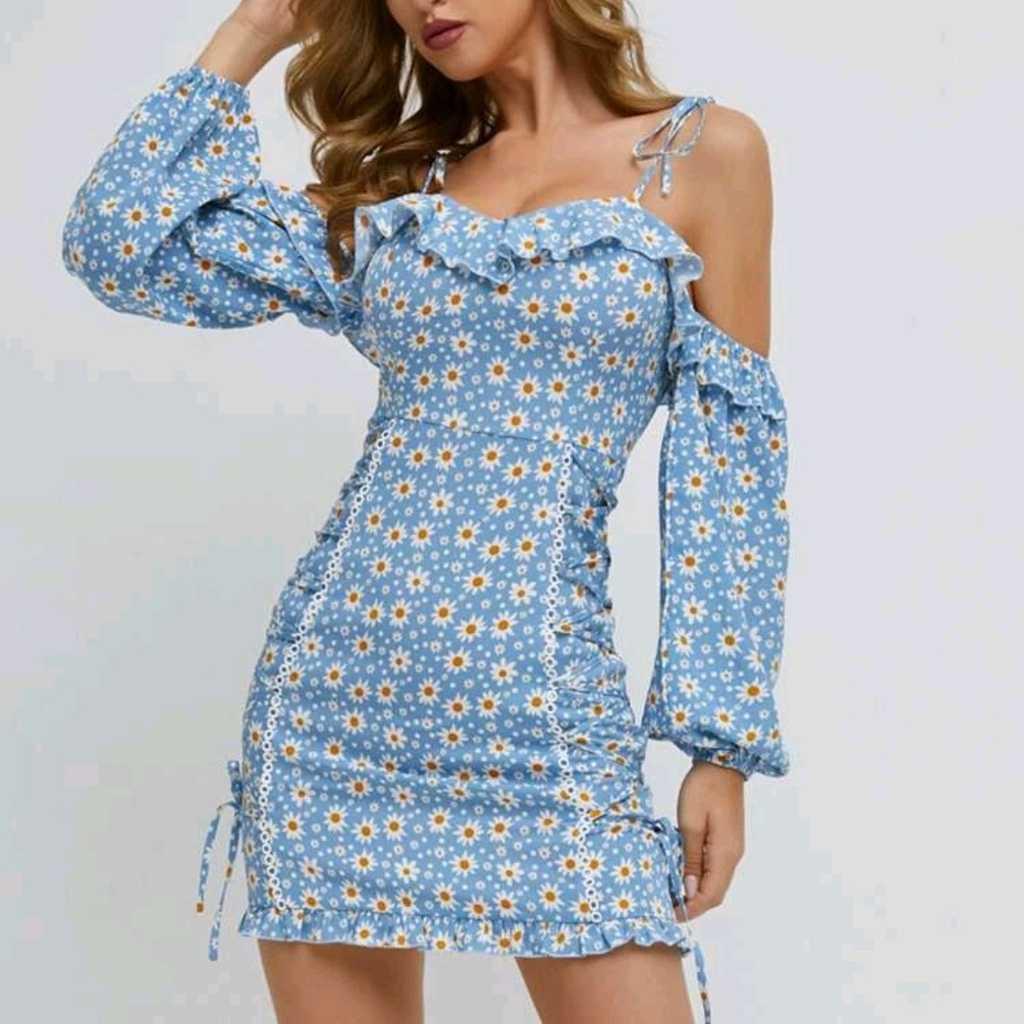 Floral Minin Dress