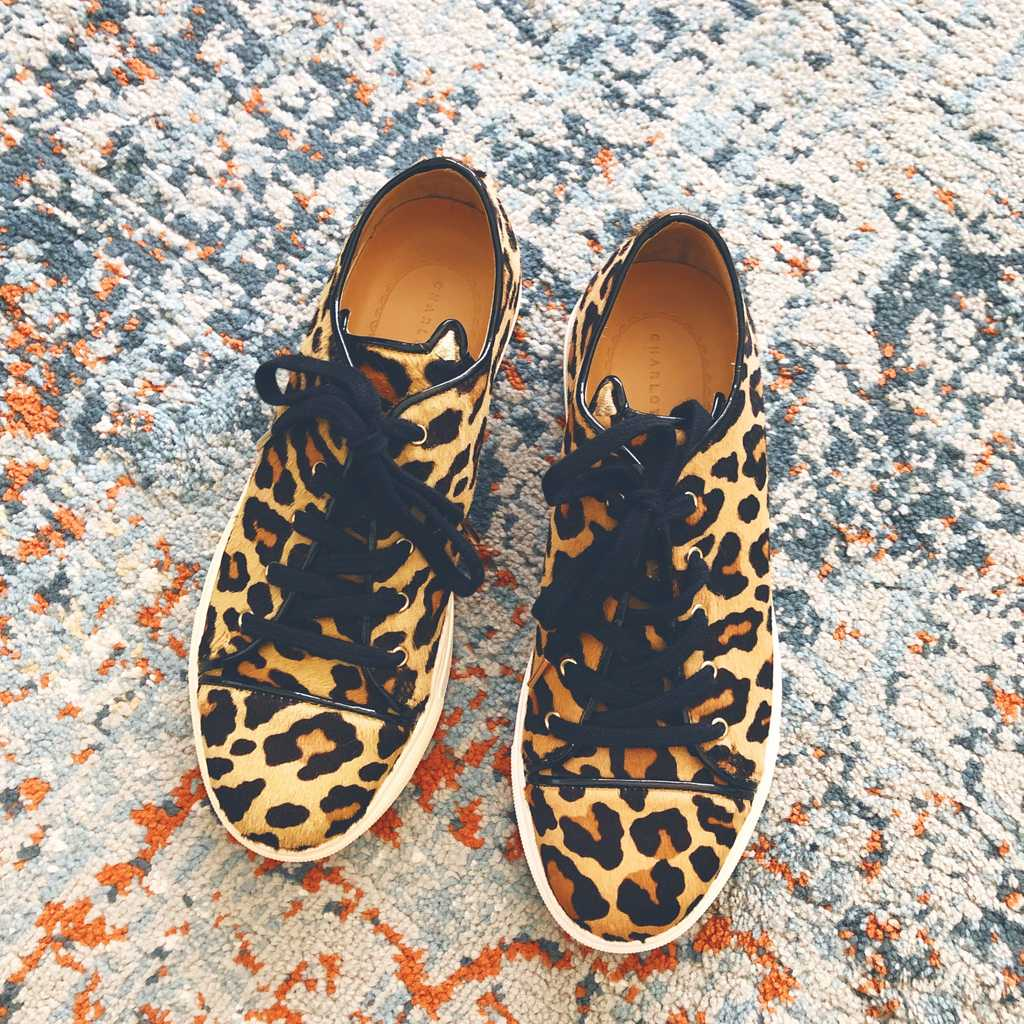 Charlotte Olympia Purrfect Leopard Print