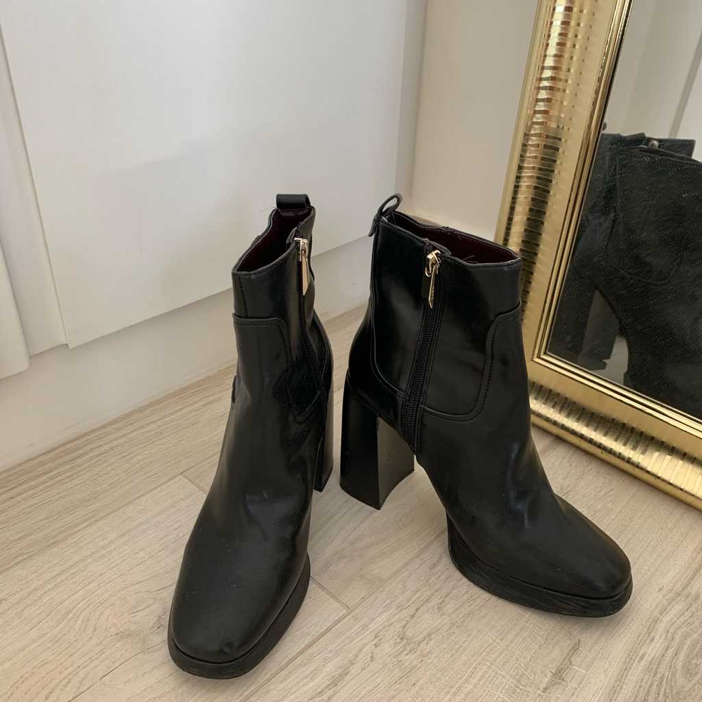 Zara healed boots