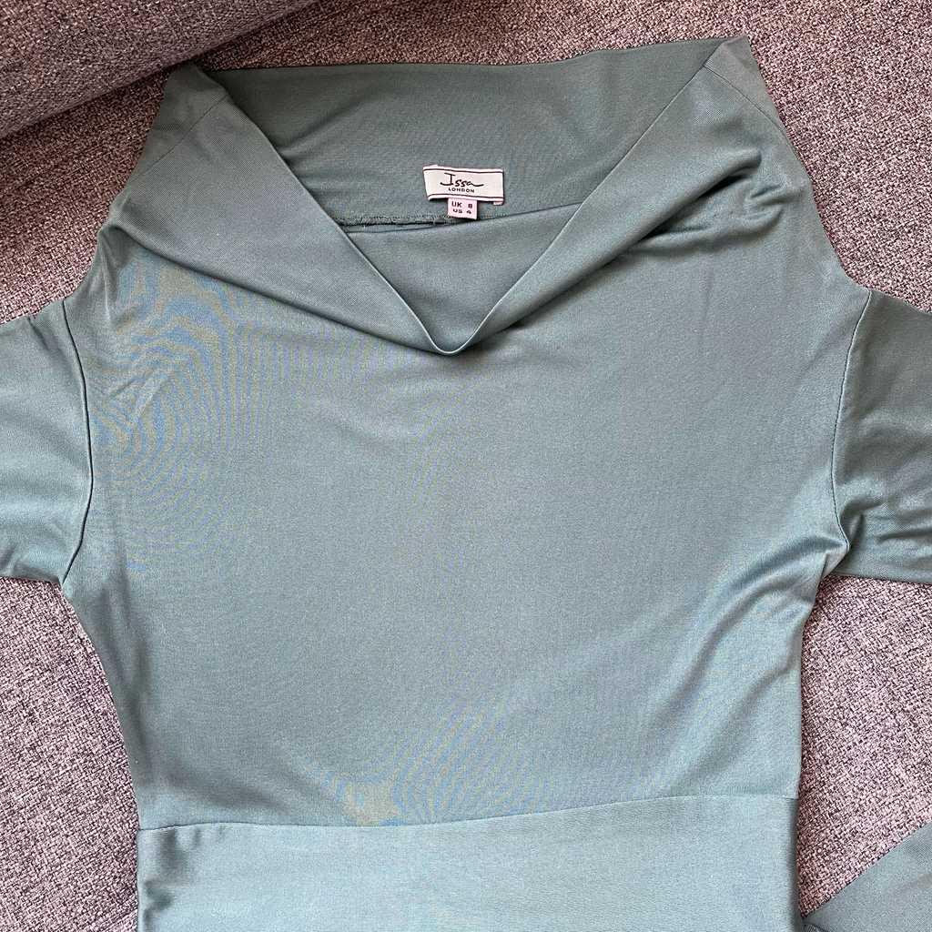 Sea Green Issa London dress