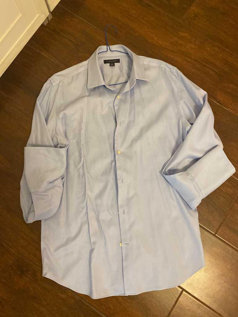Dress shirt long sleeve men