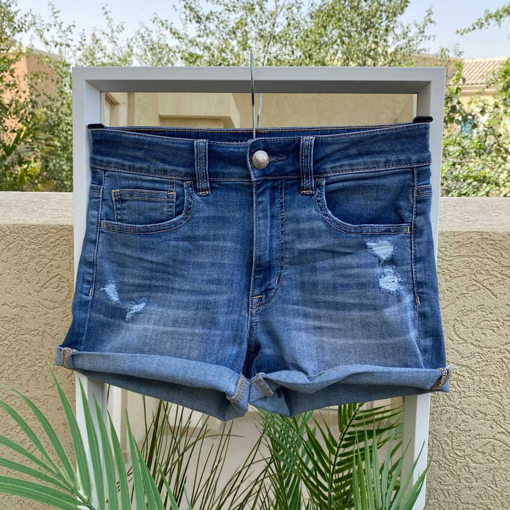 High Waisted Unique Shorts