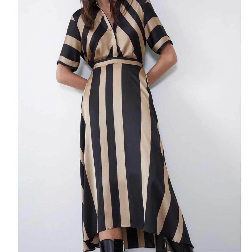 Zara midi dress uk 8-10