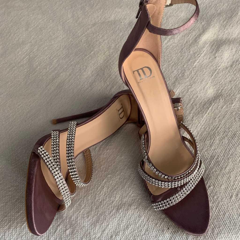 True Decadence Blush Satin heels