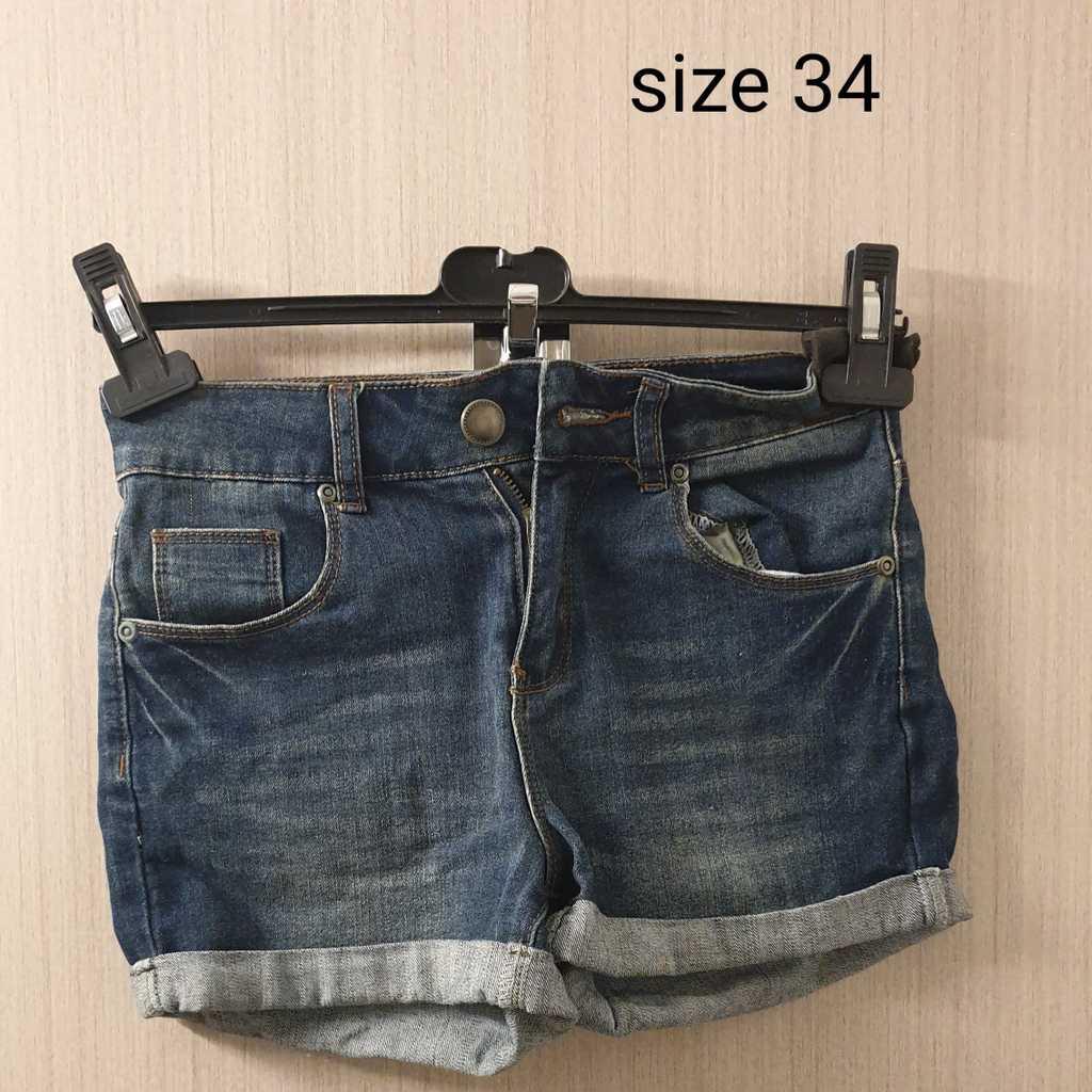 Denim Shorts size 34