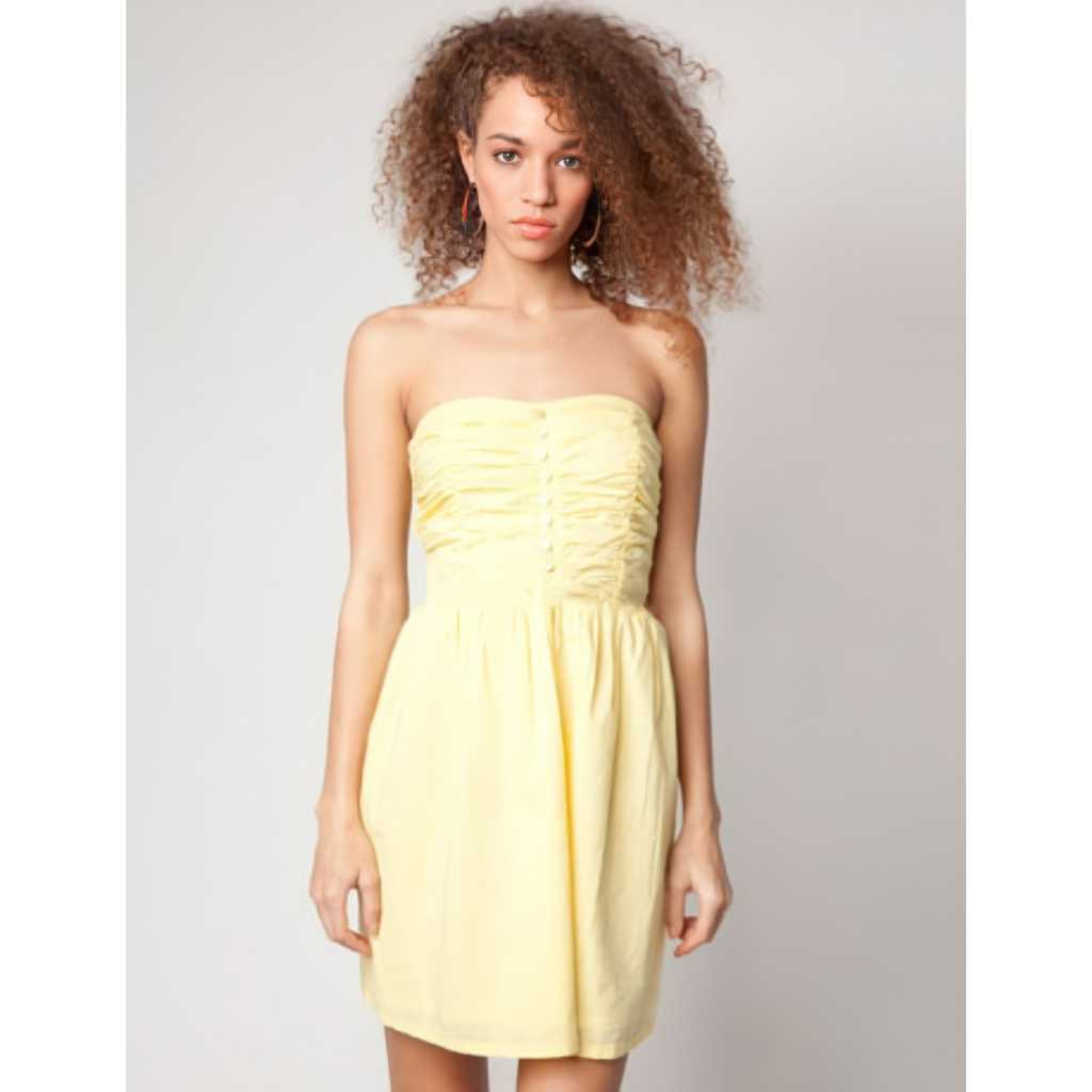 Brand New Strapless Dress size M