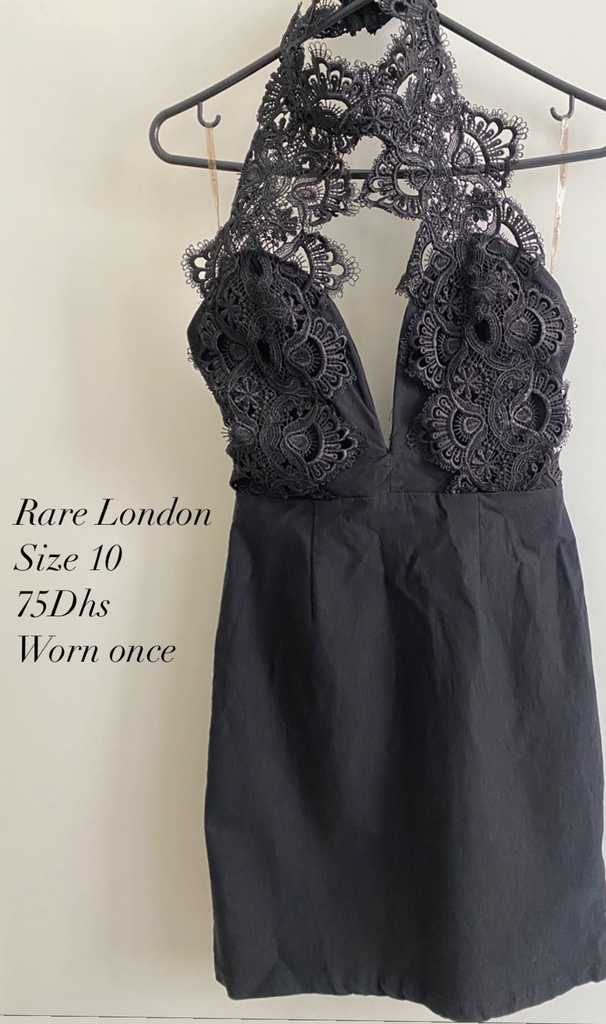 Topshop, Black Lace Dress - very elegant