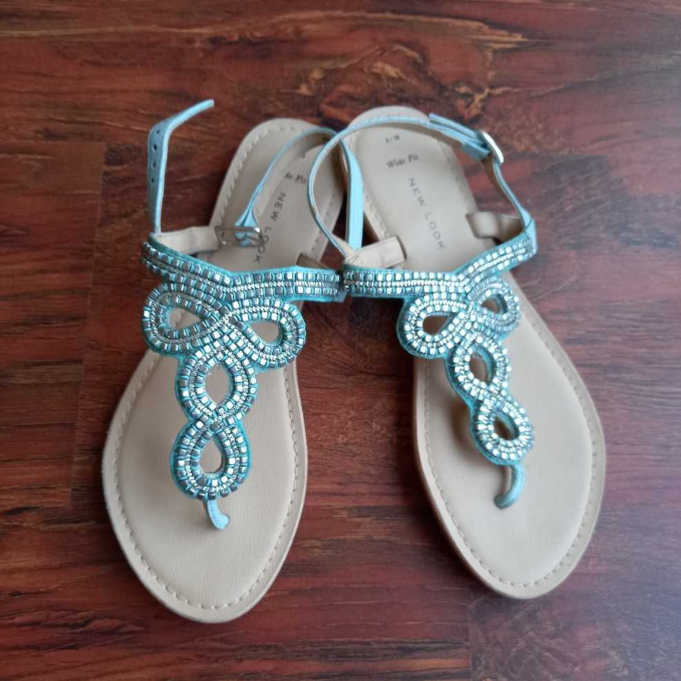 New Look embroidered sandals - Brand New