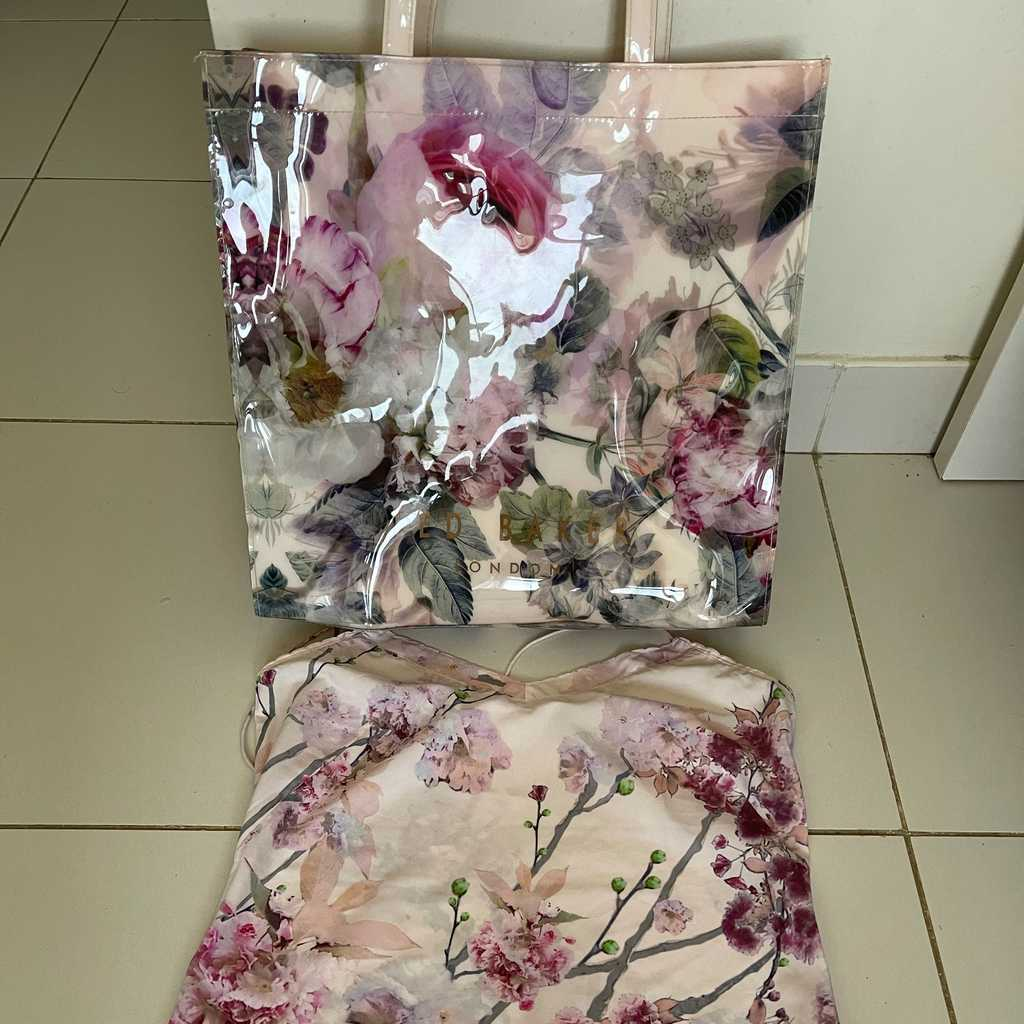 Top and bag by Ted baker