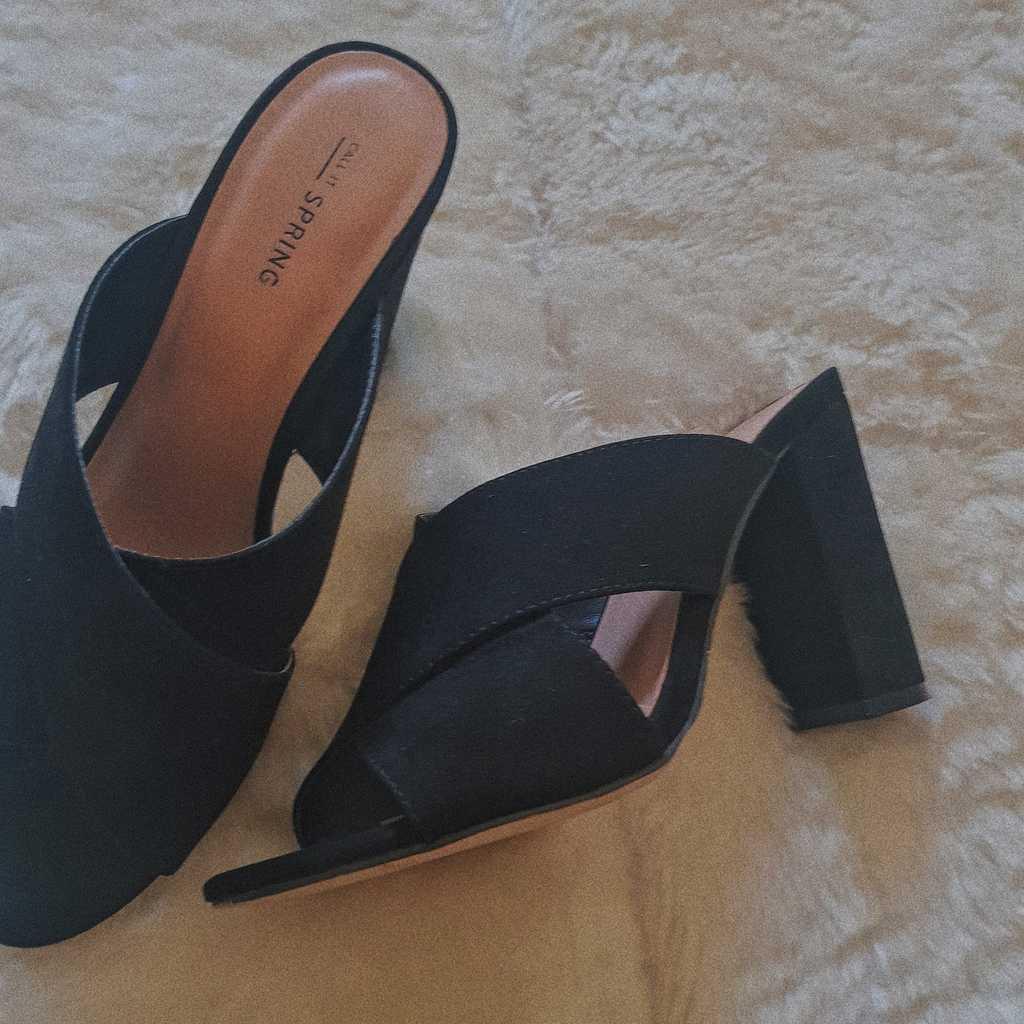 Black Heels (Still New)