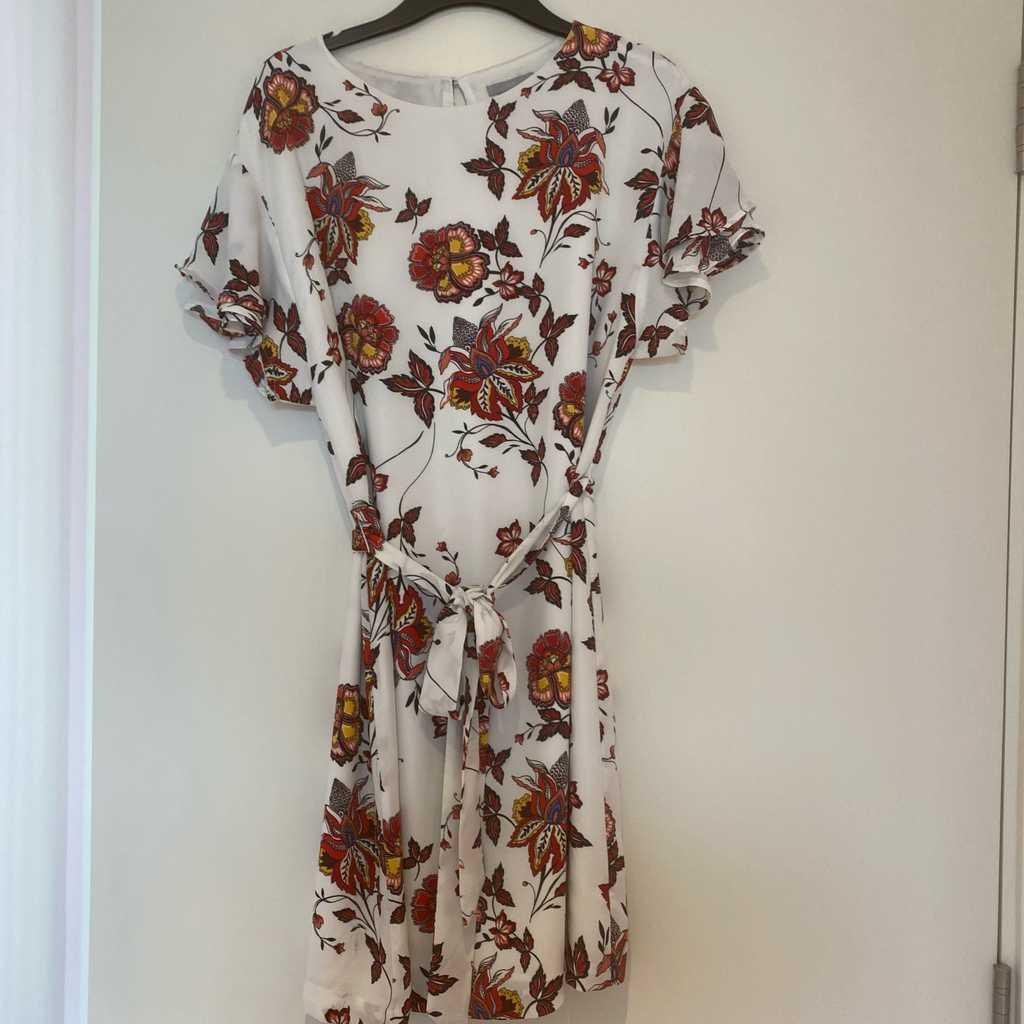 Floral dress - short style