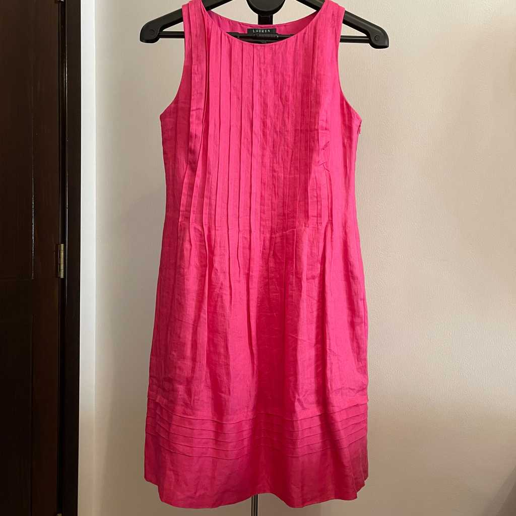 Lauren by Ralph Lauren Linen Dress