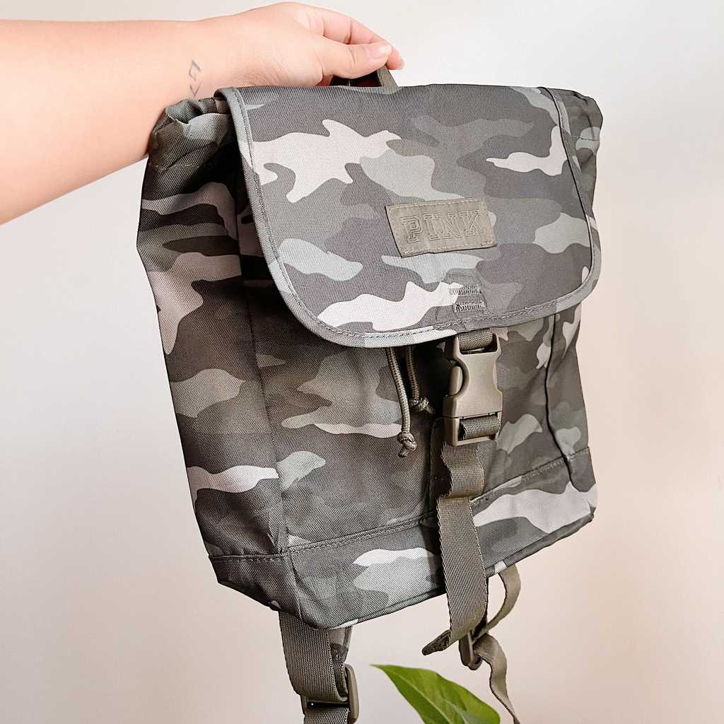 VS Pink Camouflage Backpack