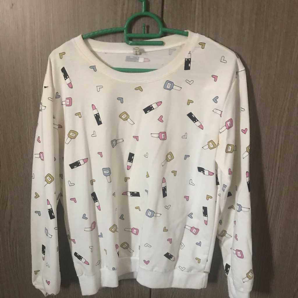 Designed sweater