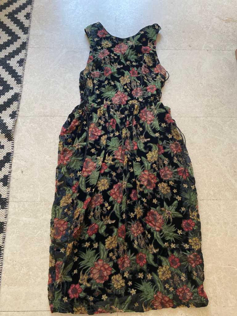 Topshop side tie dress