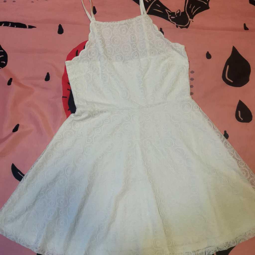 White Lace Dress New