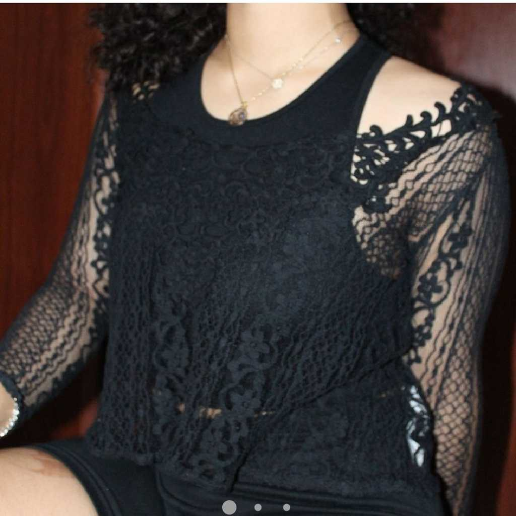 Hollister knitted top