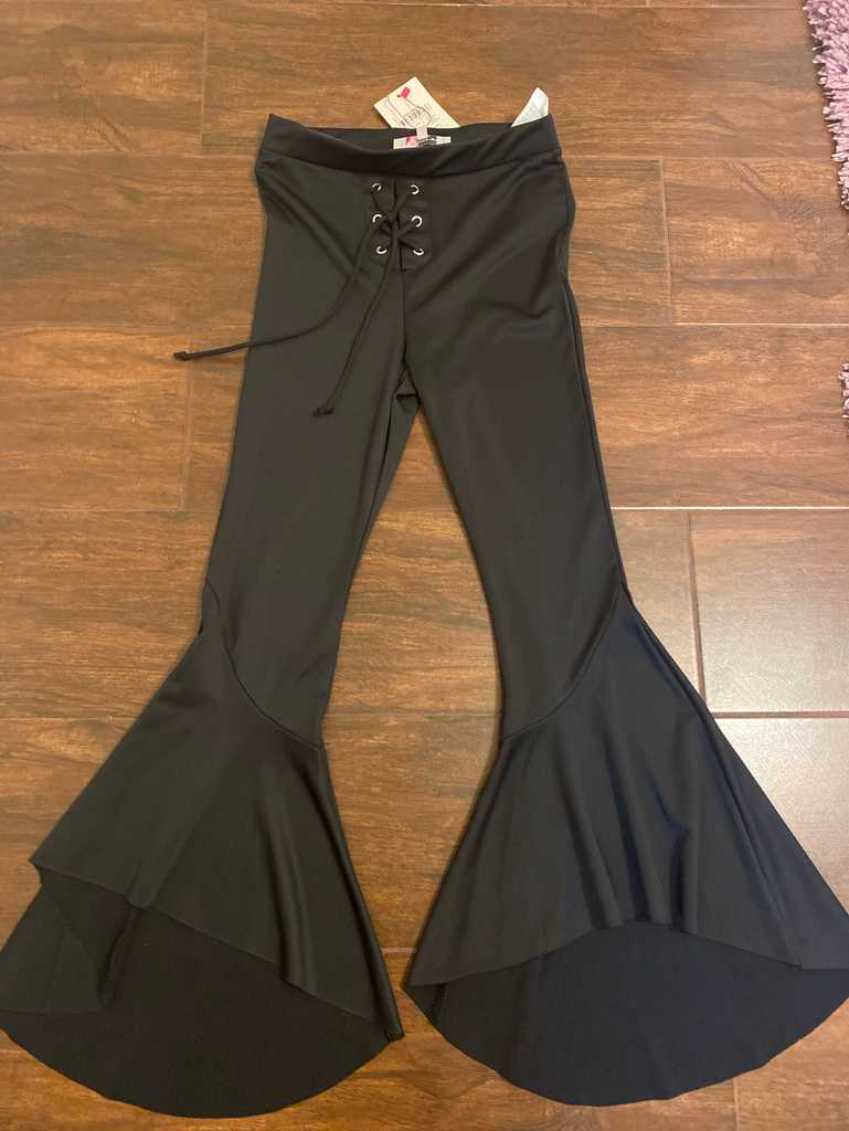 Stretchy Bell Bottom Flare Pants