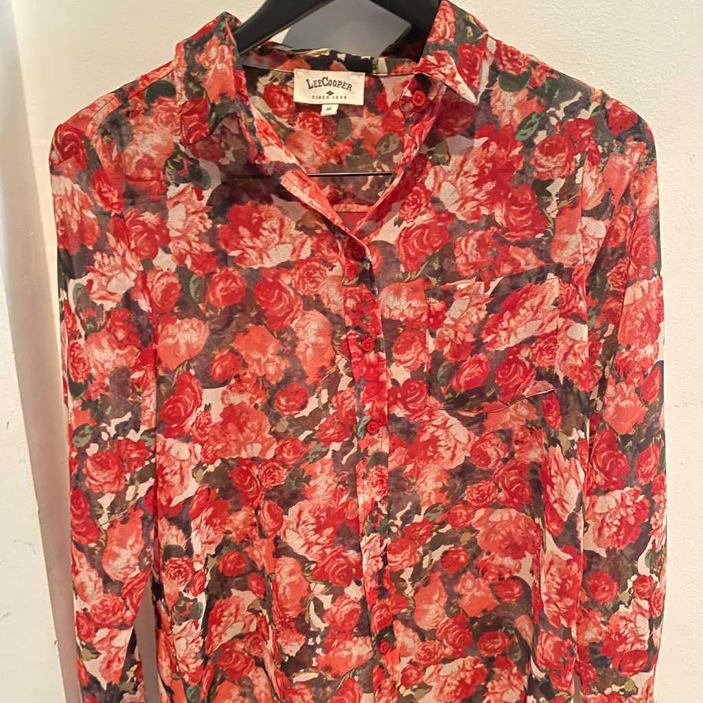 Lee Cooper Floral Shirt