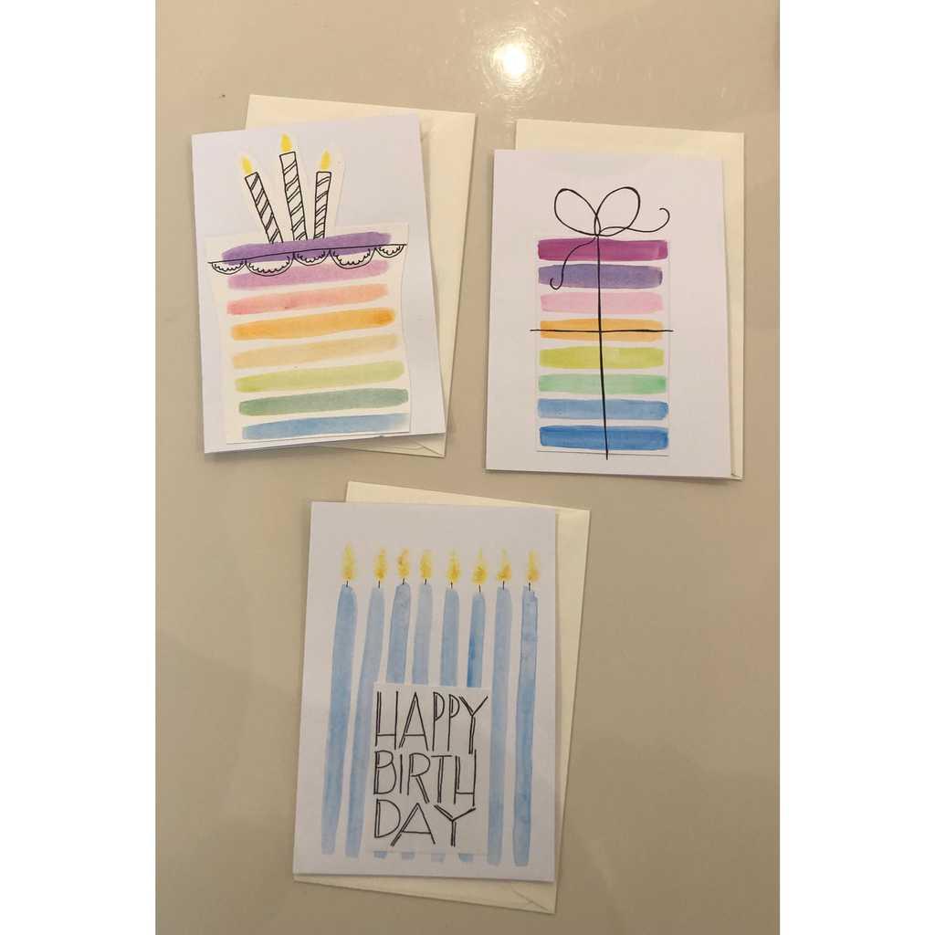 Handmade Greetings Birthday Card