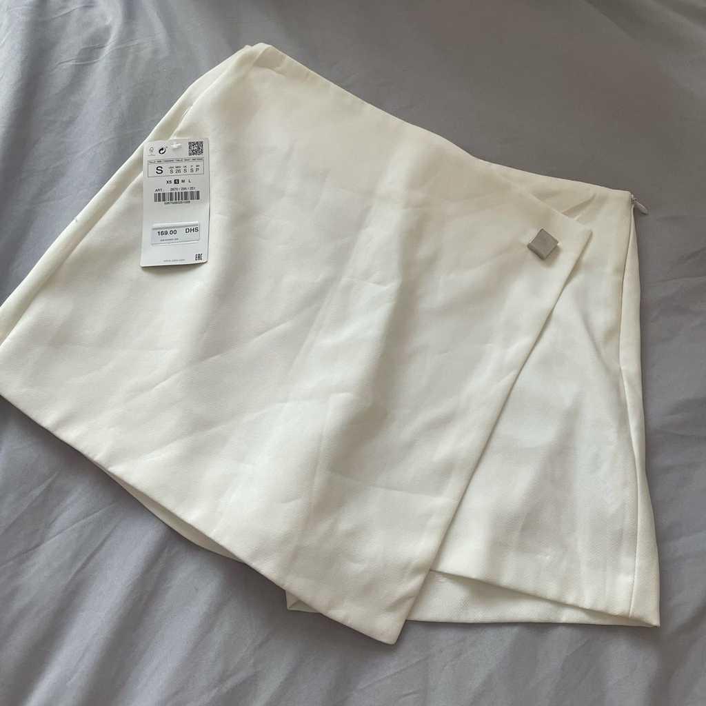 Zara skort size small brand new fits uk 10