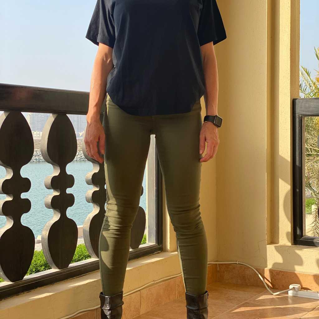 MANGO Super Stretch Mid Rise Skinny Jeans