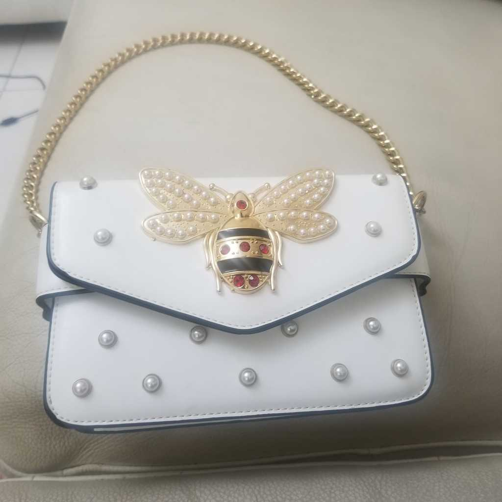 White classy bag