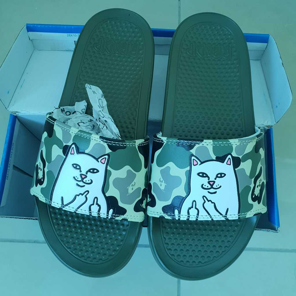 Camo Rip n Dip slides size 36