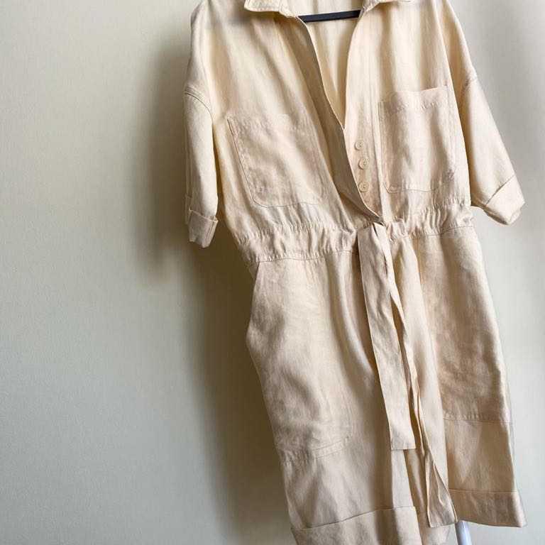 Linen play suit