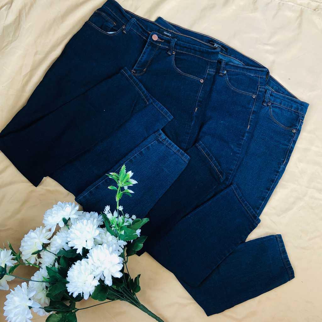 FOREVER21 Skinny Jeans 3pcs