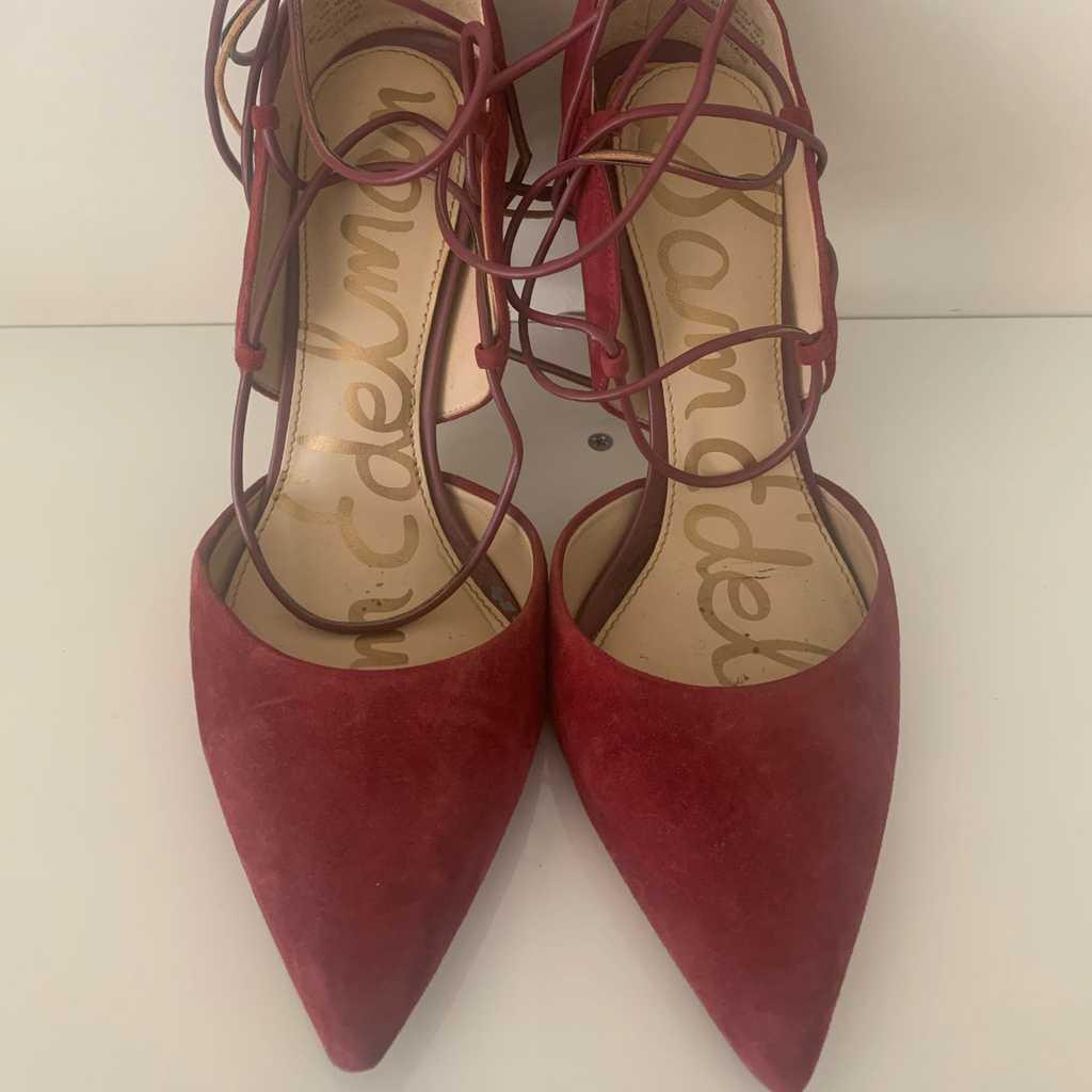 Sam Edelman Burgundhy Shoes