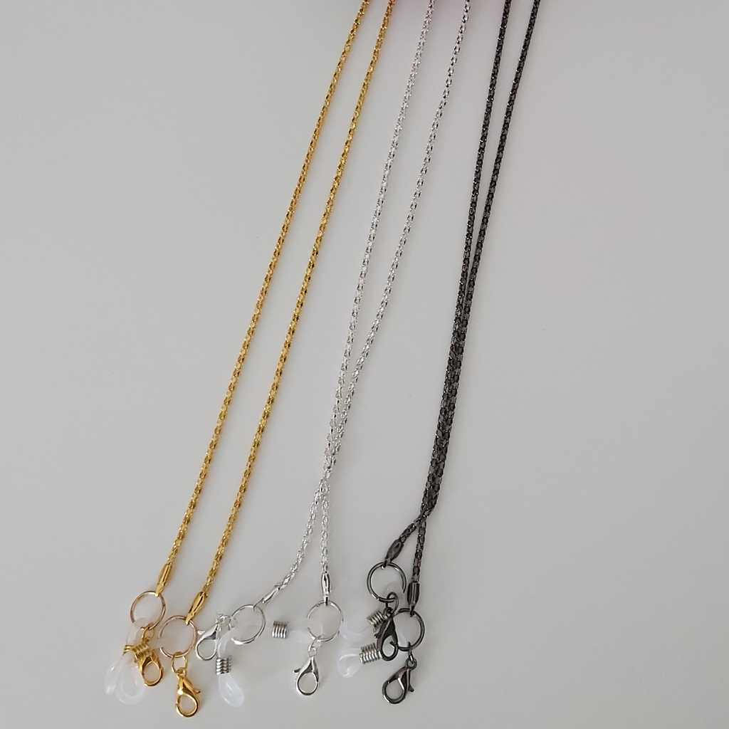 3 facemask/eyeglasses chains
