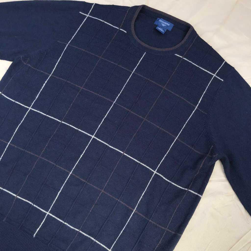 DOCKERS Black n Brown Sweater