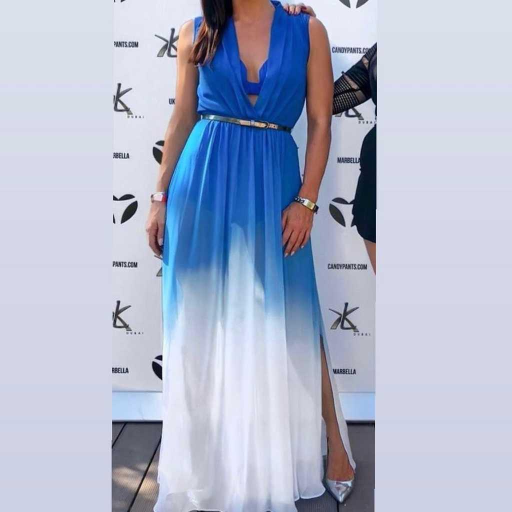 Bebe Maxi Dress-Inner knickers + sheer skirt