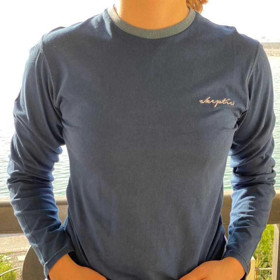 SKEPTIC long sleeve sweatshirt