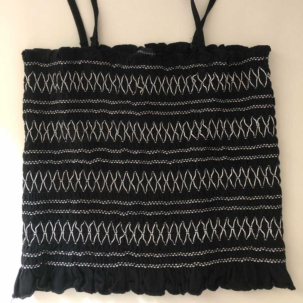 Black Tank Top (with removable straps)