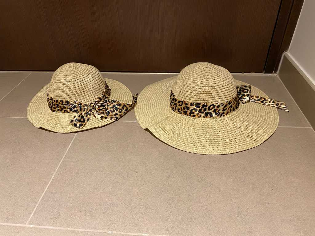 Brand new mother daughter matching hat