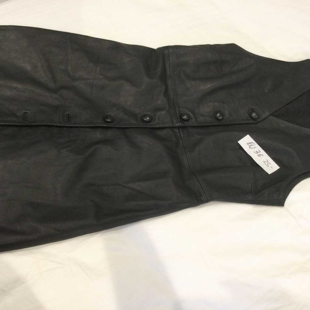Mango Leather Dress 36