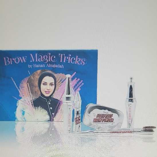 Benefit Brow Magic Trick